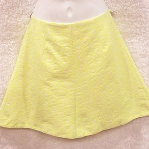 J. Crew Women's Skirt Cotton Neon Mini Size 0